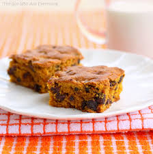 Pumpkin Food by Pumpkin Chocolate Chip Squares
