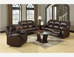 Brown Leather Reclining Sofa by Reclining Leather Sofa And Loveseat Set Foter