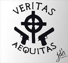 veritas aequitas decal ebay