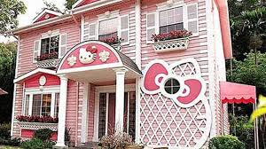 hellokitty houses hello kitty house youtube home design ideas 5935
