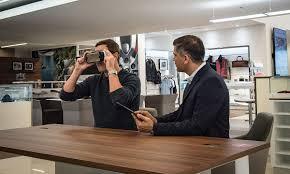 nissan canada virtual showroom jlr bringing virtual reality to showrooms