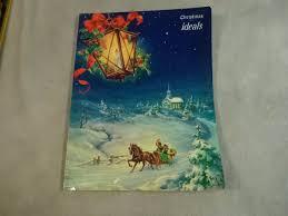 christmas ideals 1952 george hinke art prints poetry santa claus