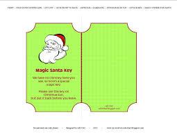 santa key owl magic santa key free printable