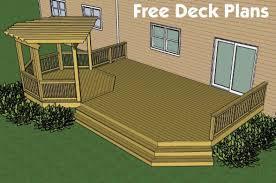 Backyard Deck Ideas Backyard Deck Designs Plans Deck Designs And Plans Decks Free
