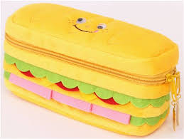 pencil cases sandwich bread plush pencil from japan pencil cases