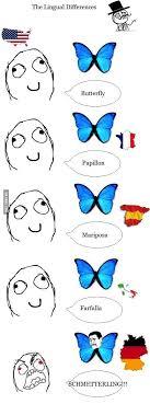 German Butterfly Meme - butterfly german rage 9gag