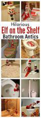 shelf ideas for bathroom hilarious and fun elf on the shelf bathroom ideas