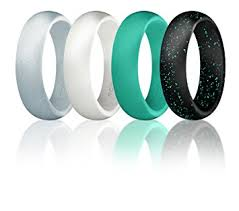 silicone wedding bands silicone wedding ring for women by roq affordable silicone rubber
