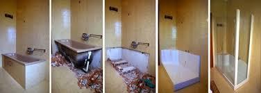 doccia facile sostituzione vasca con cabina box doccia su misura a vicenza