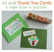 thanksgiving thank you cards craft for doug