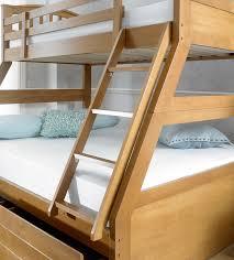 BARBICAN OAK  SLEEPER BUNK BED  HARDWOOD The Artisan Bed Company - Three sleeper bunk bed