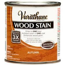 Home Depot Wood Stain Colors by Varathane 1 2 Pt Autumn Wood Stain 266204 The Home Depot