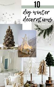 winter decorations 10 diy winter decorations that don t