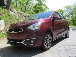 mitsubishi mirage 2017 mitsubishi mirage gt quick first drive