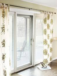 Sliding Patio Door Curtain Ideas Patio Sliding Door Curtains Twinkle