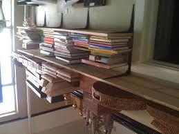 interior design inspiring interior storage design ideas with interesting oak wood floating saferacks for exciting bookshelves design