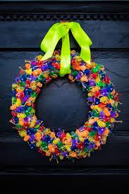 diy fabric halloween wreath tutorial simple sojourns diy