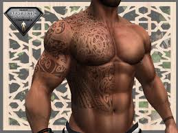 second marketplace maori on right chest back and