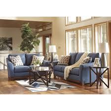 Living Room Sets By Ashley Furniture Ashley Furniture Janley Livingroom Set In Denim Local Furniture