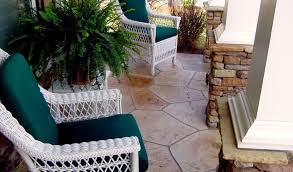 concrete patio resurfaced finishes u0026 design ideas concrete craft