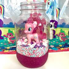 my pony centerpieces my pony jar centerpiece the inspired home