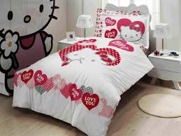 bedroom mesmerizing charming hello kitty bedroom set queen