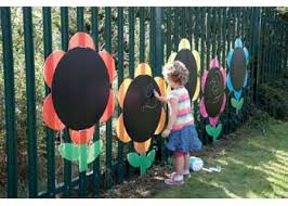 large outdoor blackboard daisies set 5 mta catalogue
