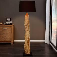 riesige design stehlampe rousilique 175 cm schwarz treibholz lampe