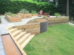 wood retaining wall u2013 simplir me