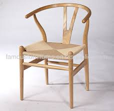 solid ash modern dining chairs study rom furnitures wishbone