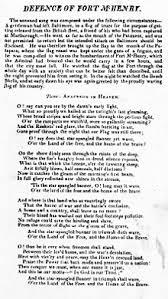 Star Light Star Bright Lyrics The Star Spangled Banner Wikipedia