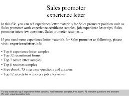 sales promoter experience letter 1 638 jpg cb u003d1409051349