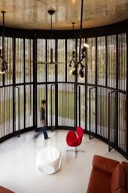 flexible revolving doors transform room from indoor to outdoor