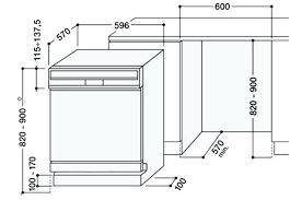 hauteur d une cuisine a quelle hauteur les meubles hauts ou à quelle hauteur la hotte