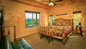 Cabin Bedroom Furniture Find A Large Cabin Rental In Gatlinburg Pigeon Forge Tn