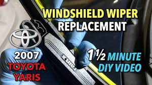 logo toyota yaris toyota yaris windshield wipers replacement 2007 2008 1 1 2