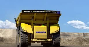 dump truck komatsu u0027s new dump truck takes a turn for the autonomous the