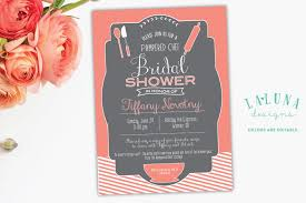 bridal shower invite kitchen bridal shower invitation pered chef bridal shower