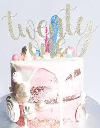 21 cake topper 21 cake topper twenty one cake topper custom cake topper