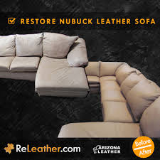 Nubuck Leather Sofa Leather Restoration Sofa Couches And Chairs Releather