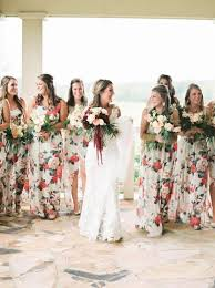 floral print bridesmaid dress 1000 ideas about floral bridesmaid dresses on floral
