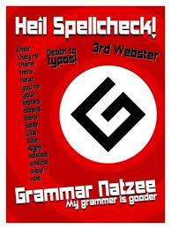 Grammer Nazi Meme - image 35047 grammar nazi know your meme