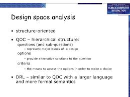 design criteria questions hci chapter 6