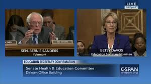 sanders tries to argue for free college during hearing for
