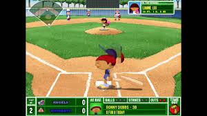 backyard baseball 2001 angels vs wombats commentary over