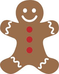 clip art clip art of gingerbread man