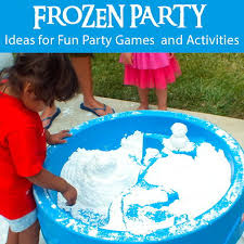 frozen party frozen party and activities two crafting