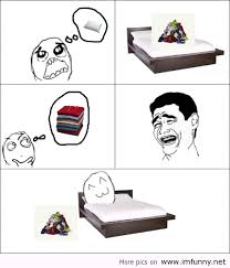 comics meme bed
