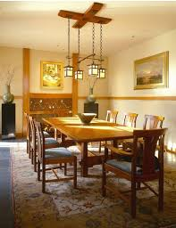 craftsman style dining table kitchen with arts and for brilliant