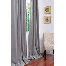 Grey Curtains For Bedroom Gray And White Curtains Metallic Curtain Panels Grey Velvet
